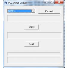 Программа для обнуления признака иммобилайзера в насосе FORD